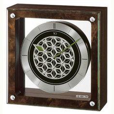 Настольные часы Seiko Clock QXV002ZN. Коллекция Интерьерные часы