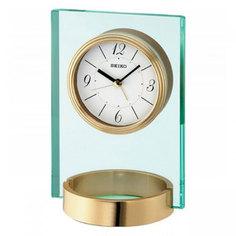 Настольные часы Seiko Clock QHE054GN. Коллекция Интерьерные часы