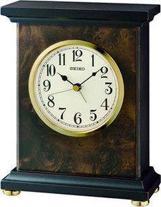 Настольные часы Seiko Clock QXE056BN. Коллекция Настольные часы