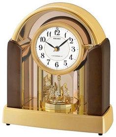 Настольные часы Seiko Clock QXW248GT. Коллекция Настольные часы