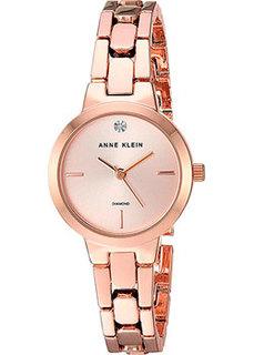 fashion наручные женские часы Anne Klein 3234RGRG. Коллекция Diamond
