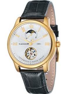 мужские часы Earnshaw ES-8066-03. Коллекция Longitude Moonphase