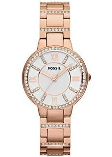 fashion наручные женские часы Fossil ES3284. Коллекция Virginia