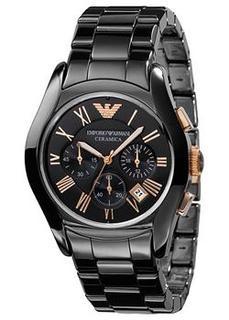 fashion наручные мужские часы Emporio armani AR1410. Коллекция Ceramica