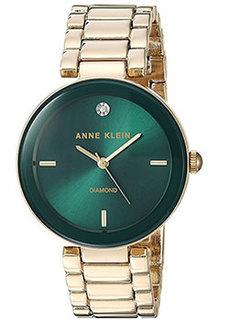 fashion наручные женские часы Anne Klein 1362GNGB. Коллекция Diamond