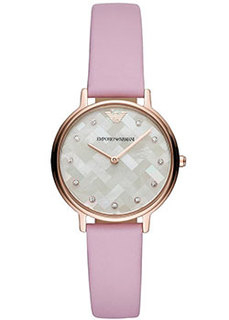 fashion наручные женские часы Emporio armani AR11130. Коллекция Dress