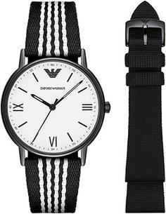 fashion наручные мужские часы Emporio armani AR80004. Коллекция Dress Watch Gift Set