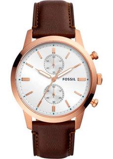 fashion наручные мужские часы Fossil FS5468. Коллекция Townsman