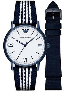 fashion наручные мужские часы Emporio armani AR80005. Коллекция Dress Watch Gift Set