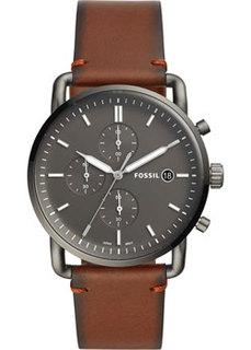 fashion наручные мужские часы Fossil FS5523. Коллекция The Commuter