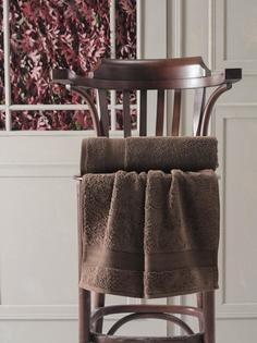 Полотенце Karna DESTAN 70x140 см (коричневый)