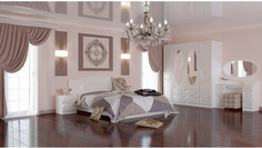 Модульная спальня Жемчуг Премиум МК