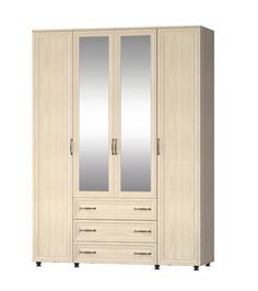 Шкаф четырехстворчатый Гармония с зеркалами Премиум МК