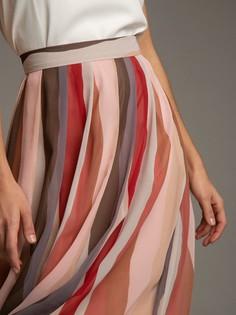 Шифоновая юбка в складку Emka