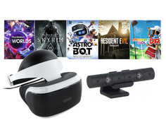 Шлем виртуальной реальности Sony PlayStation VR Mega Pack 2 MK4 CUH-ZVR2 + PS Camera + 5 игр PS719998600