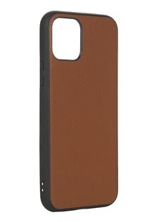 Чехол LuxCase для APPLE iPhone 11 Pro Кожа+TPU Caramel 66005