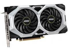 Видеокарта MSI GeForce RTX 2060 1665Mhz PCI-E 3.0 8192Mb 14000Mhz 256 bit HDMI 3xDP RTX 2060 SUPER VENTUS GP OC 8GB
