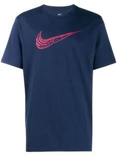 Nike футболка в клетку