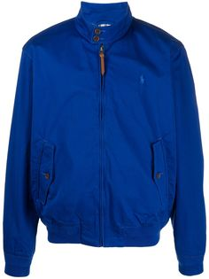 Polo Ralph Lauren легкая куртка с вышитым логотипом