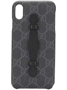 Gucci чехол для iPhone XS Max с узором GG
