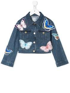 Charabia джинсовая куртка с аппликацией
