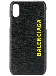 Balenciaga чехол Cash для iPhone X