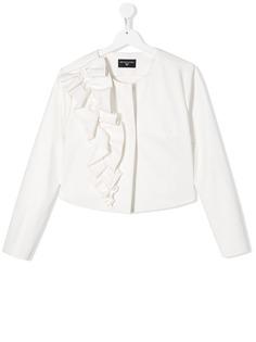 Monnalisa куртка с оборками