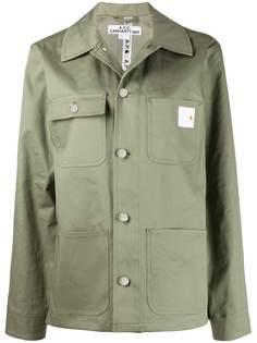 A.P.C. куртка-рубашка оверсайз