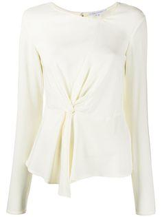 Patrizia Pepe блузка с перекрученной деталью