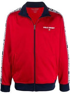 Polo Ralph Lauren спортивная куртка с контрастными вставками