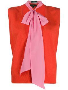 Jejia трикотажный жилет Annie с шарфом