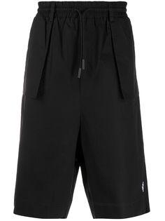 Marcelo Burlon County Of Milan шорты-бермуды с накладными карманами