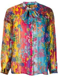 Golden Goose блузка Stella с цветочным принтом
