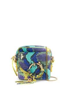 See By Chloé сумка через плечо Joan с тиснением под кожу змеи
