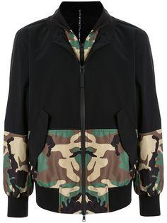 Blackbarrett спортивная куртка с камуфляжным принтом