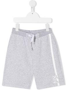 Karl Lagerfeld Kids шорты-бермуды