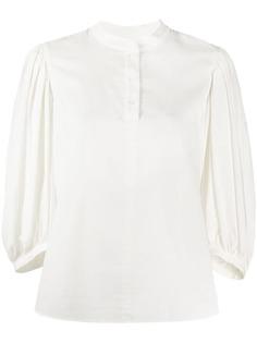 See By Chloé блузка свободного кроя с пышными рукавами