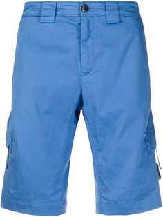 C.P. Company шорты-бермуды с карманами