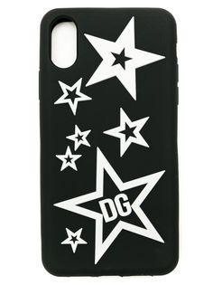 Dolce & Gabbana чехол Mixed Star для iPhone X