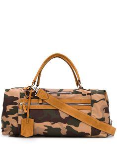 Eleventy сумка-тоут с камуфляжным принтом