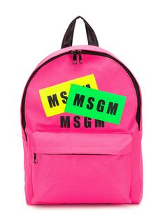 Msgm Kids рюкзак с логотипом