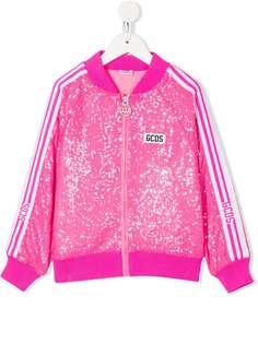 Gcds Kids спортивная куртка с пайетками