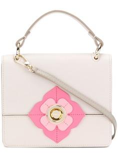 Furla сумка с цветочной деталью