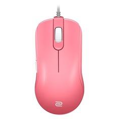 Мышь BENQ Zowie FK2-B Divina, игровая, оптическая, проводная, USB, розовый [9h.n2pbb.ab3]