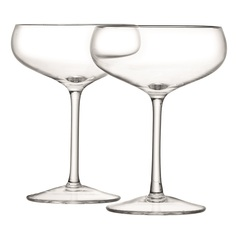 Набор бокалов для шампанского wine (4 шт) (lsa international) прозрачный 13 см.