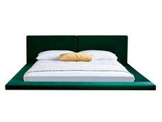 """Кровать """"harmonia"""" (idealbeds) зеленый 250x100x230 см."""