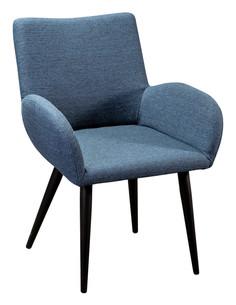 Полукресло henrik сканди блю арт (r-home) синий 63x79x62 см.