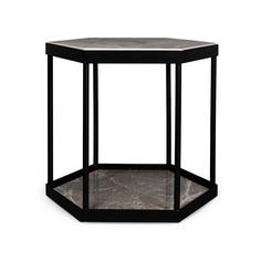 Кофейный столик entera (desondo) черный 51x46x51 см.