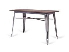 Стол tolix (desondo) коричневый 120x75x60 см.