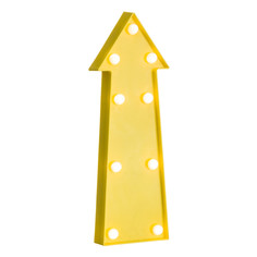 Декор настенный braegen (to4rooms) желтый 29.0x10.0x3.5 см.